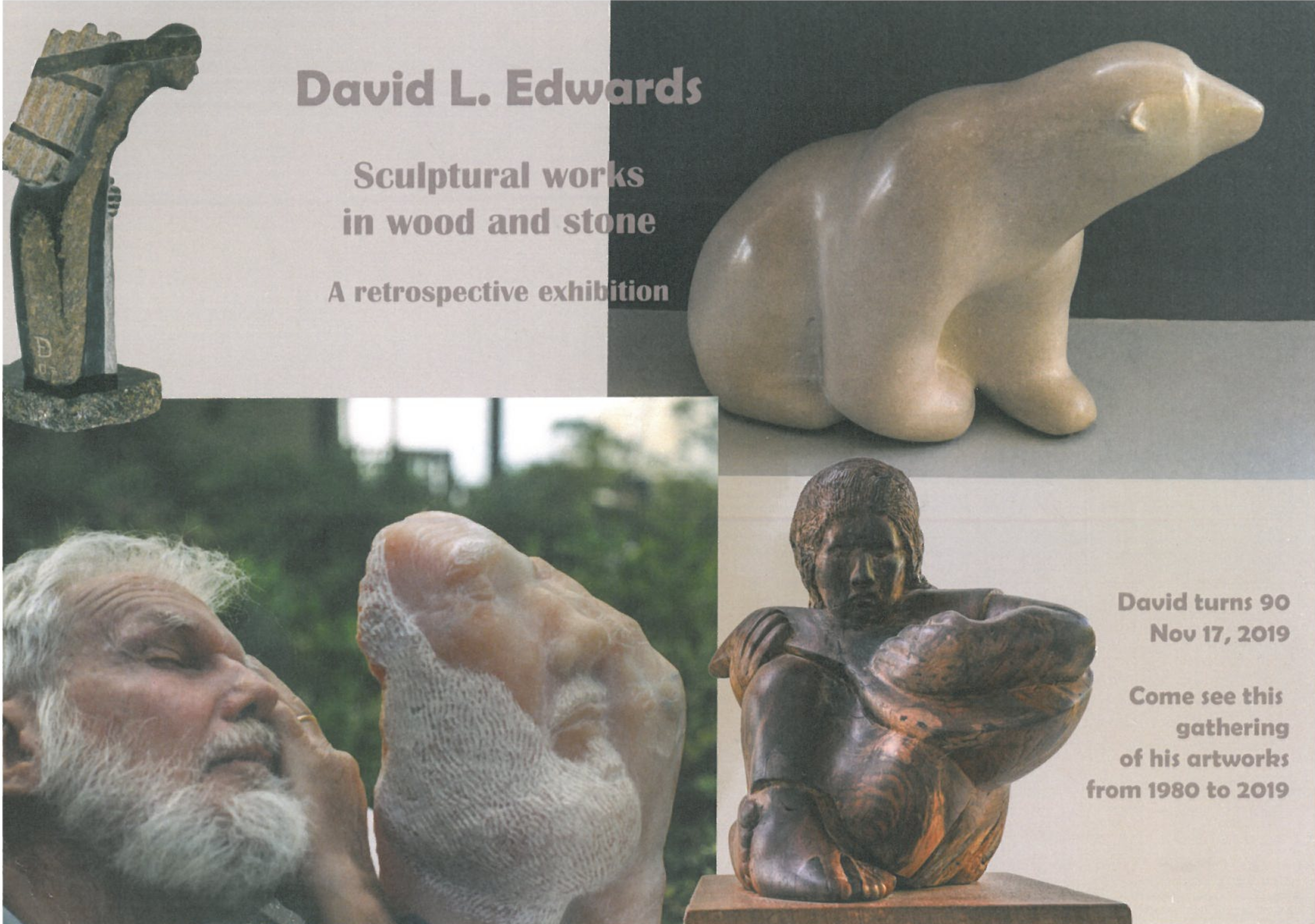 David L. Edwards Retrospective Exhibition