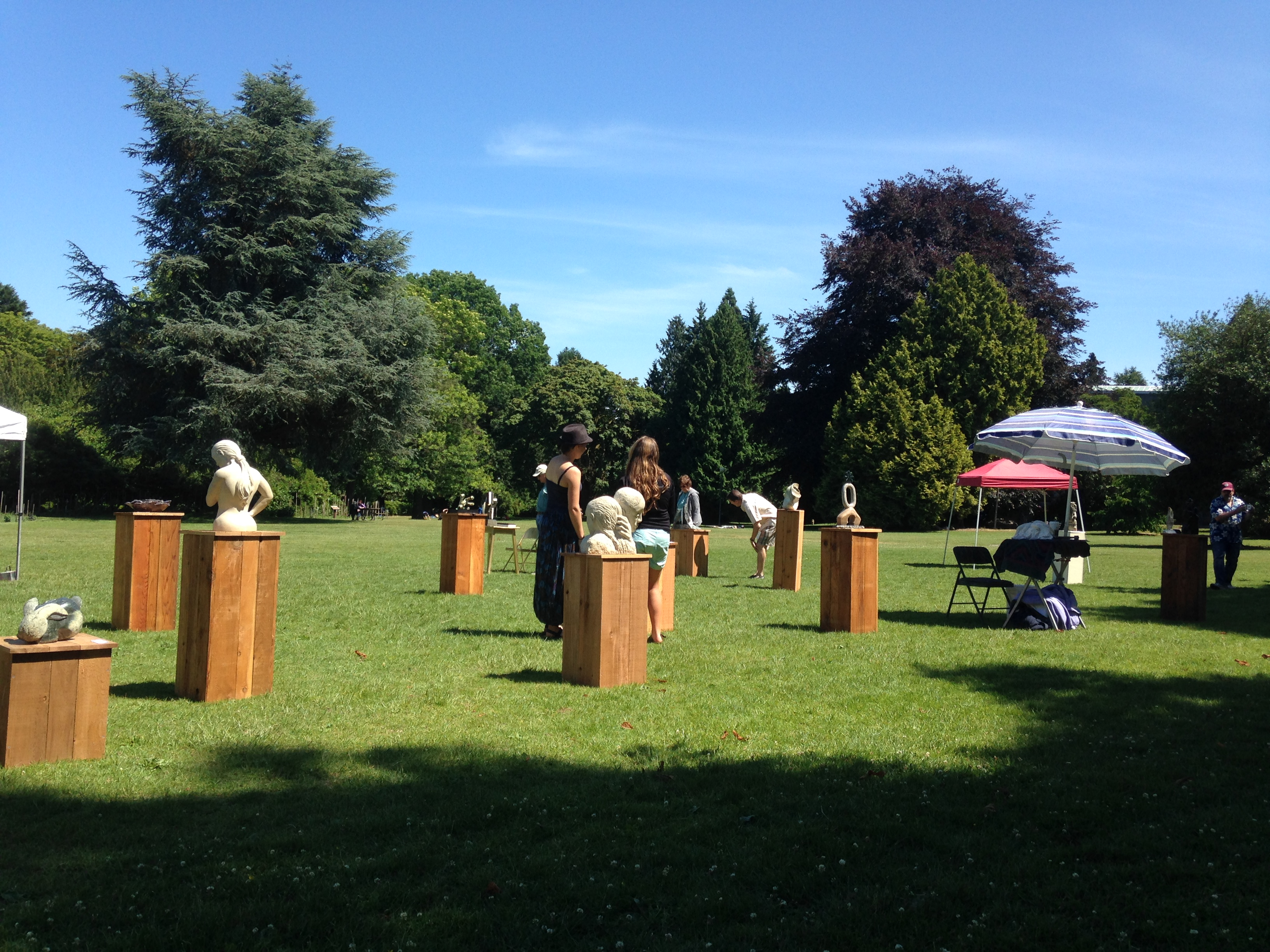 Volunteer Park Outdoor Sculpture Show