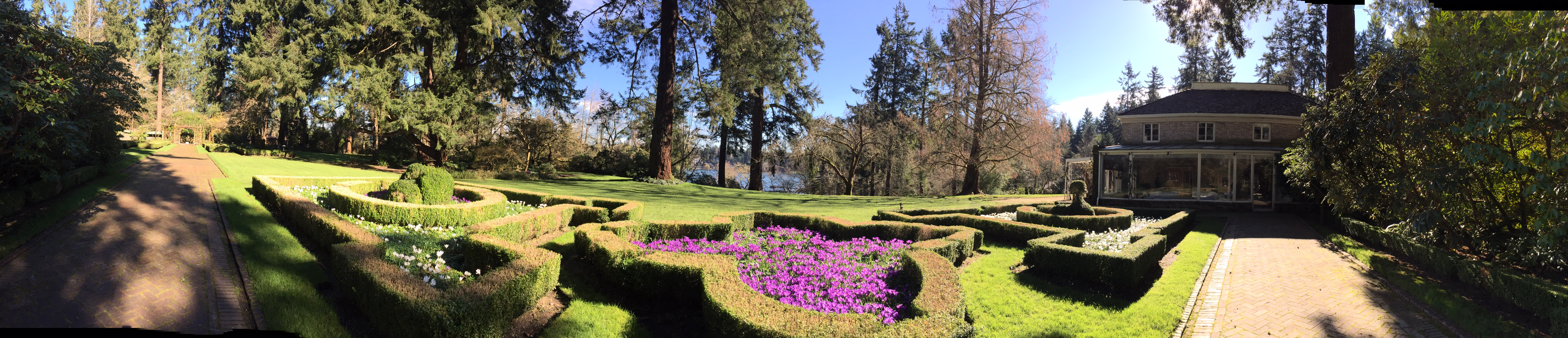 Lakewold Gardens Panorama
