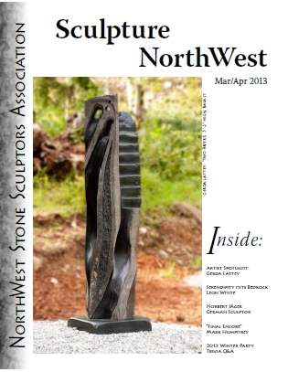 March April 2013 Sculpture NorthWest