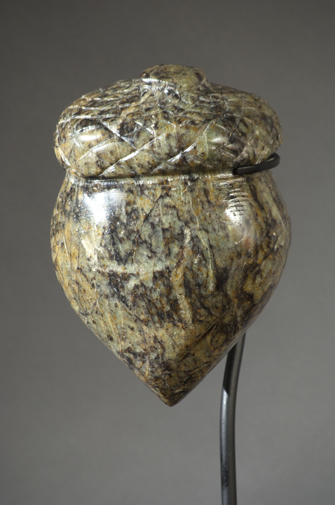Original Seed of Possibility, soapstone by Anne Lancaster
