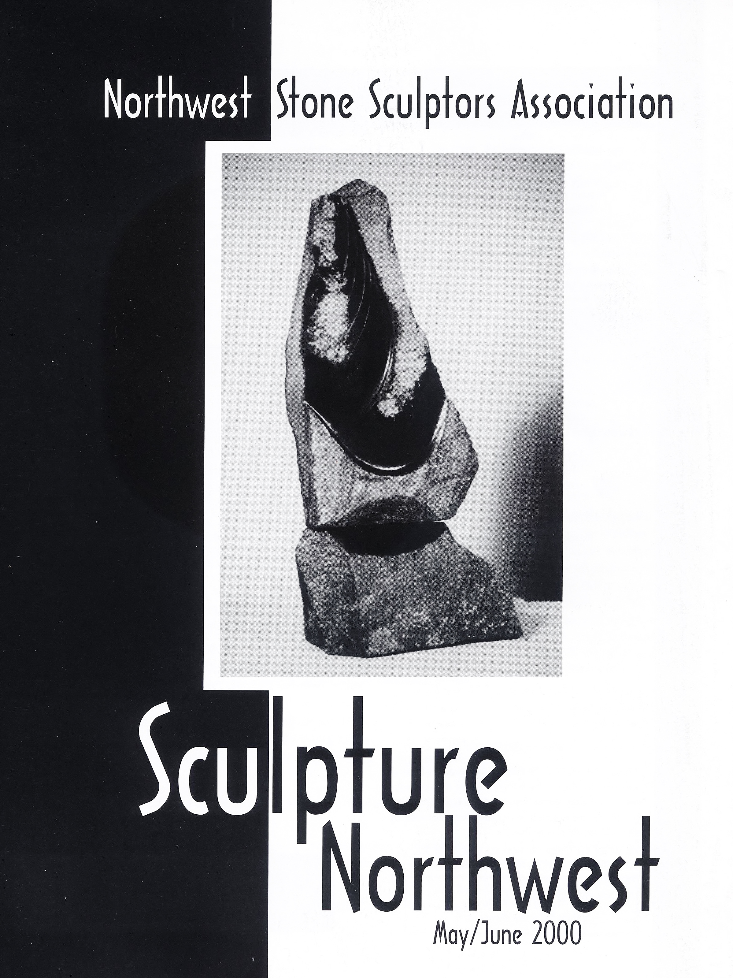 Sculpture Northwest 2000 cover, Elaine MacKay