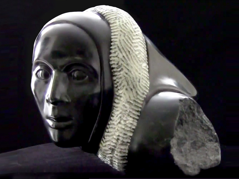 """Winters Approaching"" Lisa Svircic sculpture"