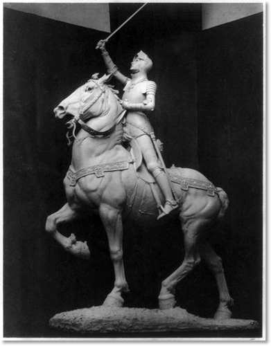 "'Joan of Arc"", Bronze, by Anna Hyatt Huntington"