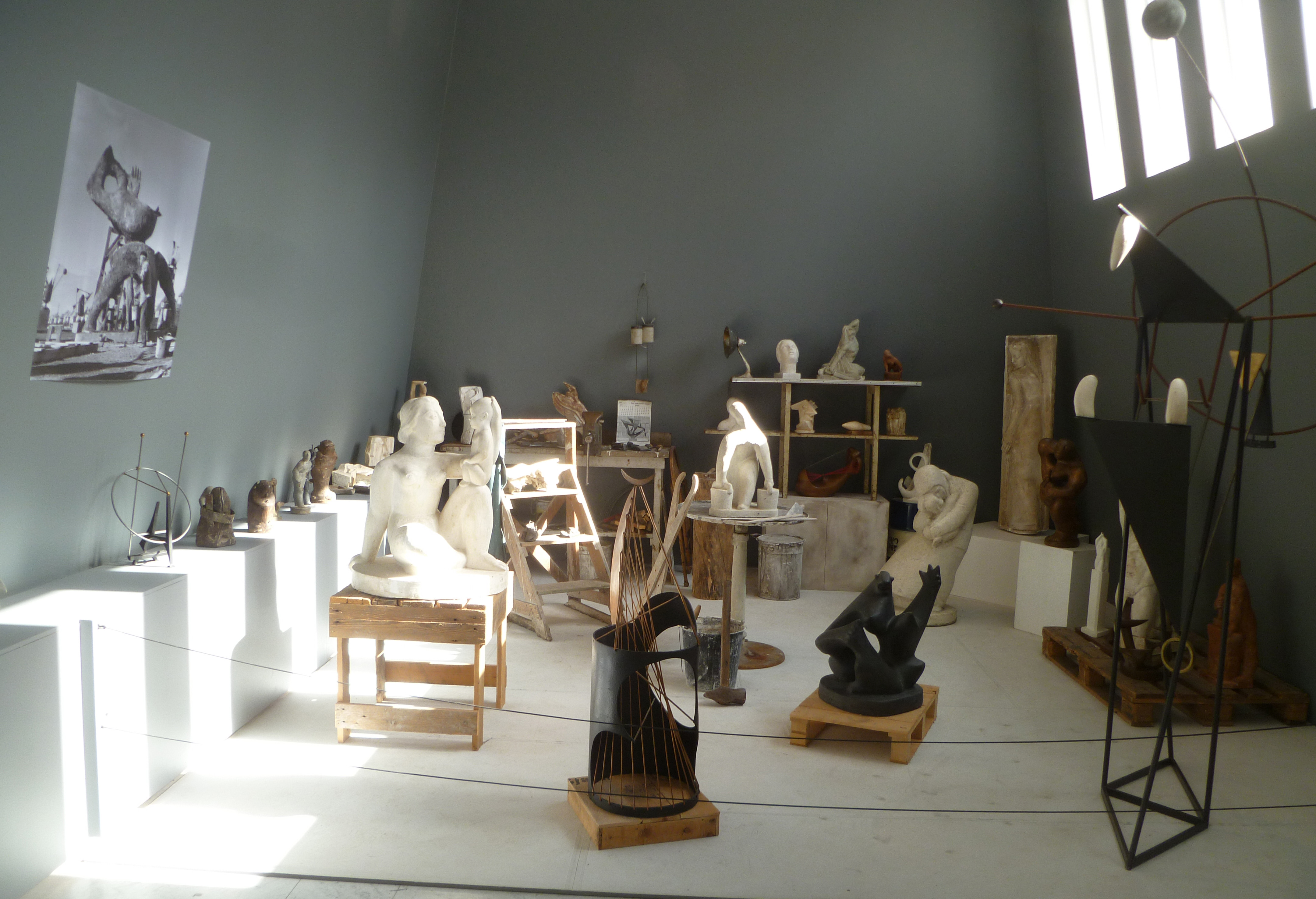 Sveinsson's Studio at the Asmundarsafn Museum