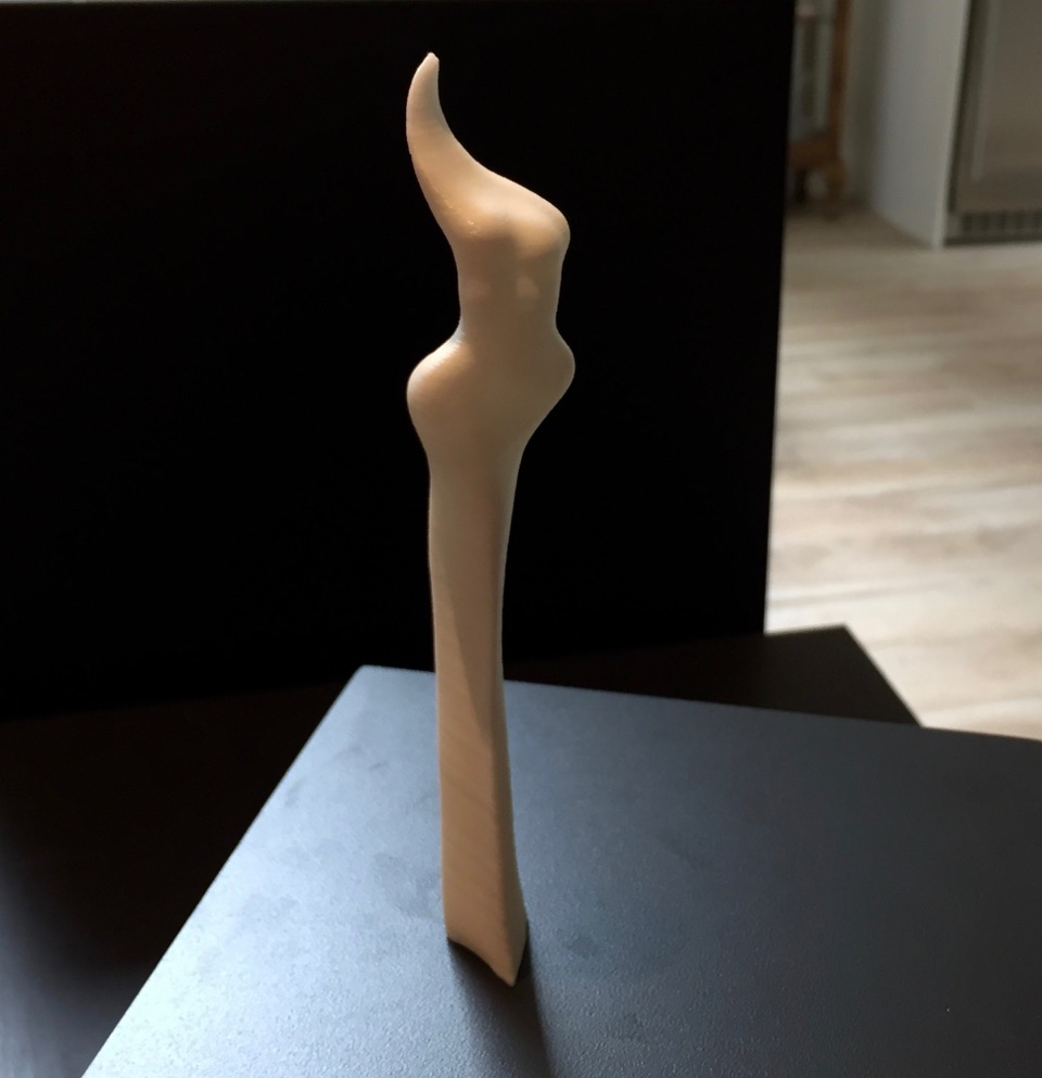 Maquette made on 3D Printer using Digistal Design