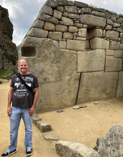 David Webb at Machu Picchu
