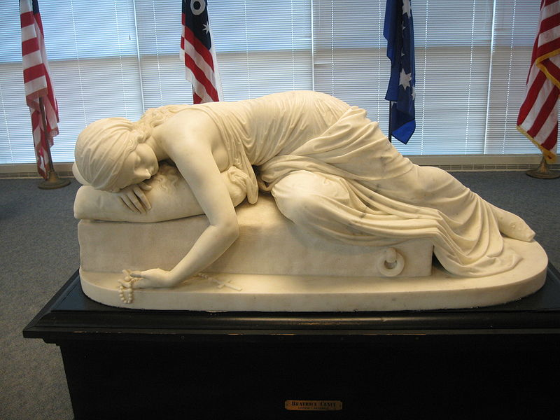 1856 marble Beatrice Cenci by Harriet Hosmer