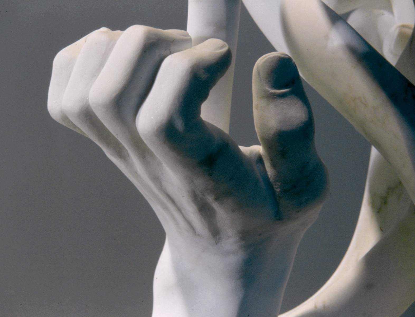 """Formation"" (detail), marble, 1995 by Oliver Harwood"