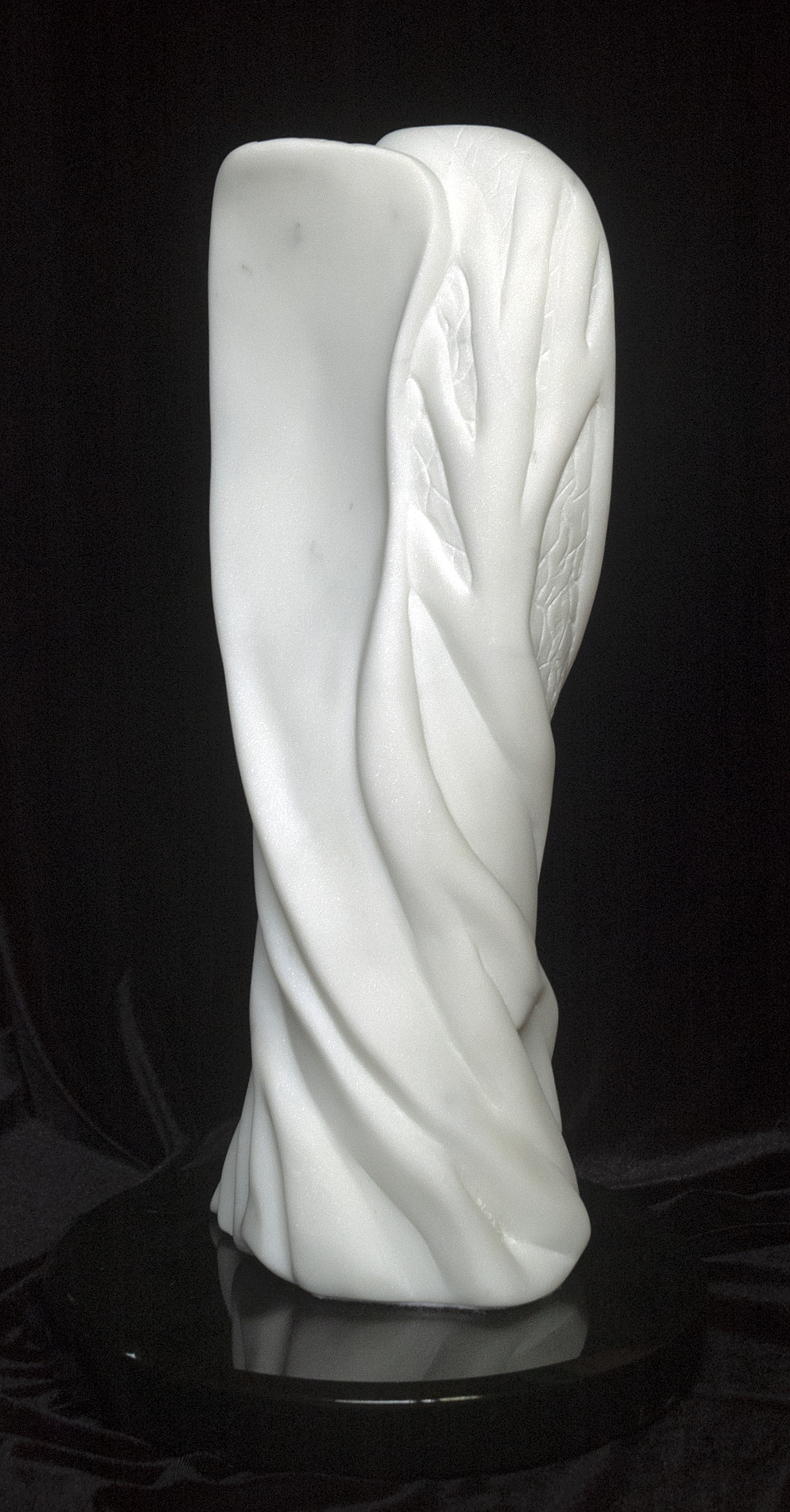 Transfiguration 2012 Carrara Marble and Black Onyx 18.5in tall 2nd