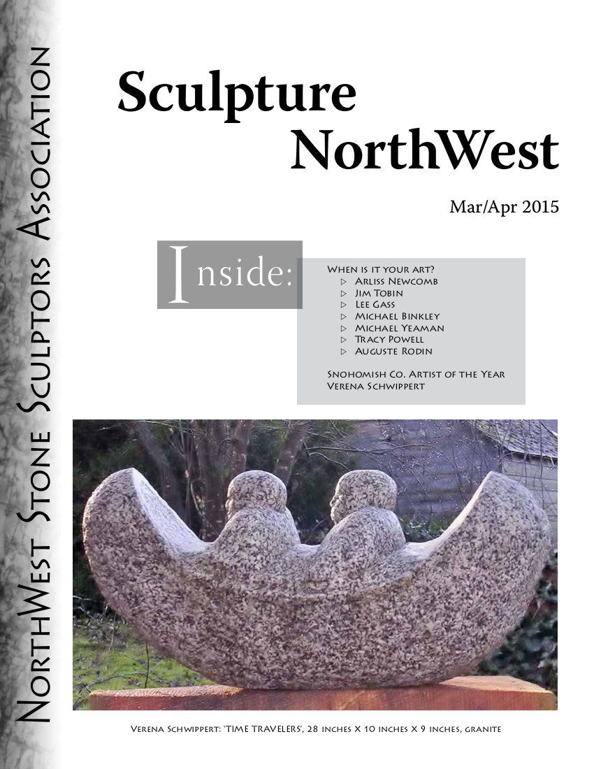 March April 2015 Sculpture Northwest