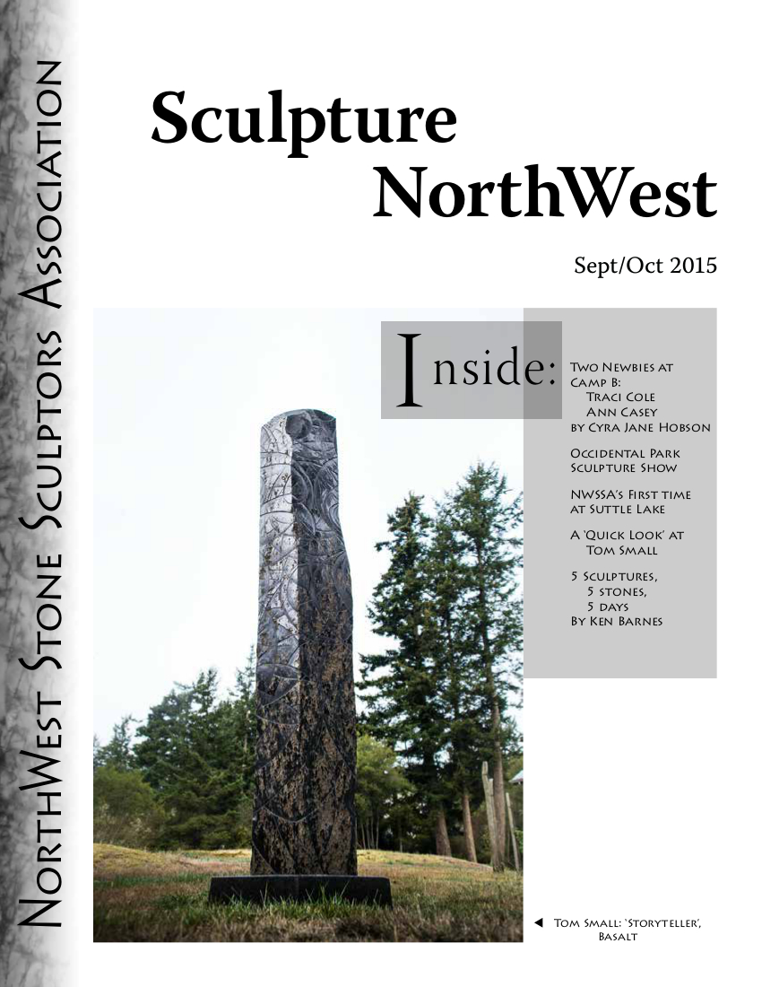 2015 Sept Oct Sculpture NorthWest cover