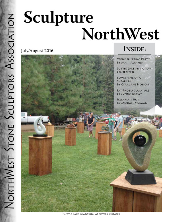 2016 Sculpture Northwest Journal July Aug Cover