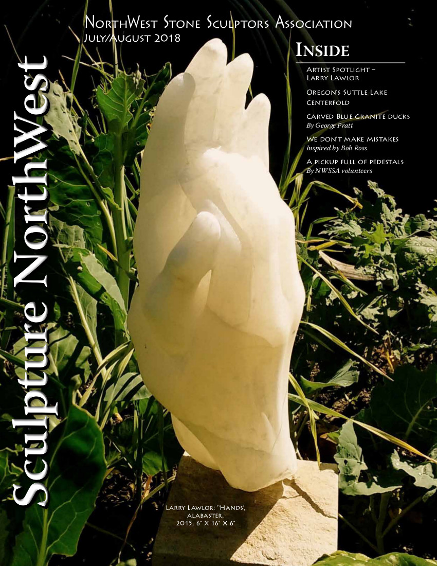 2018 July-August Sculpture Northwest Cover