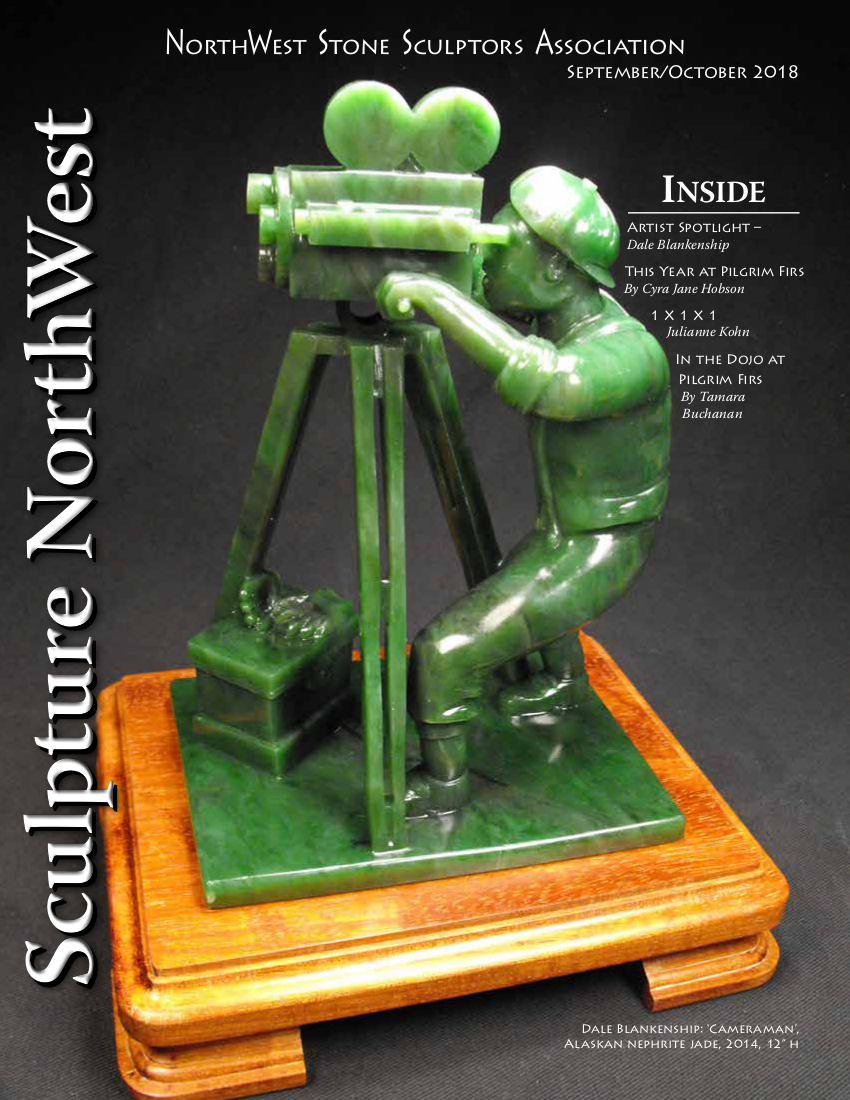 2018 Sept-Oct Sculpture NorthWest cover