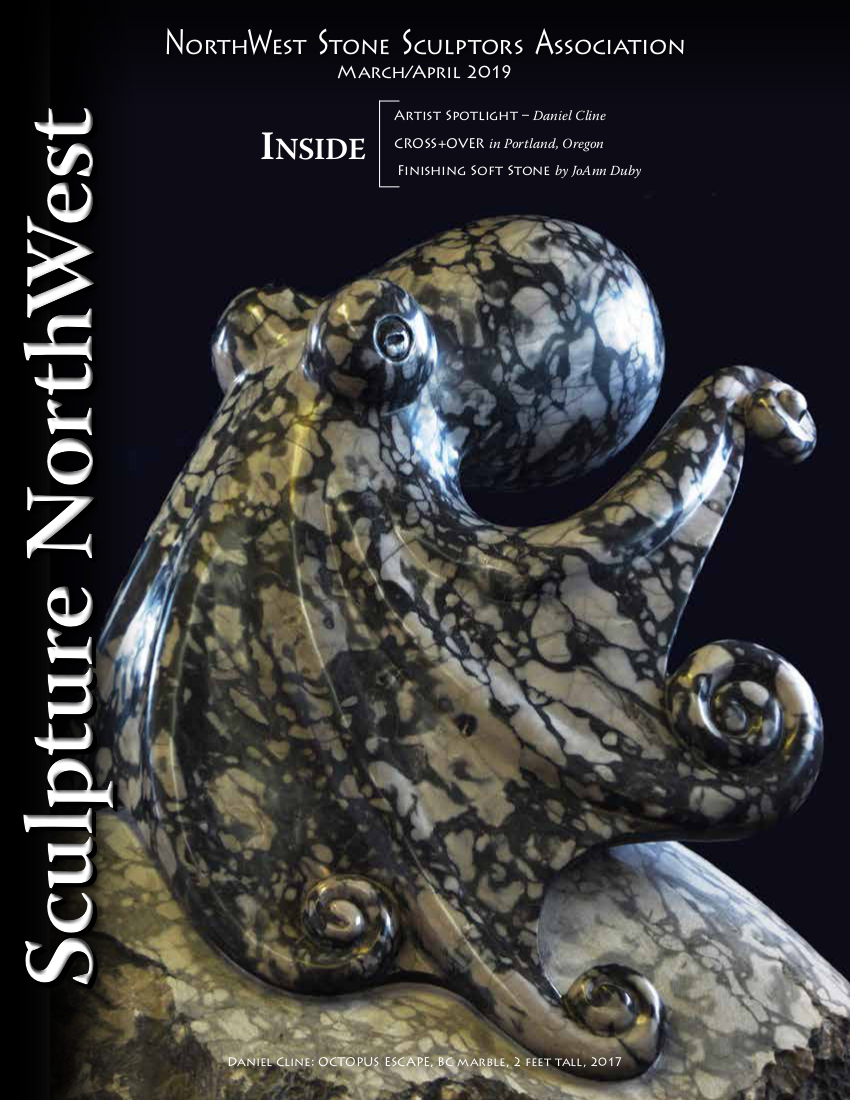 2019 March April Sculpture Northwest Cover