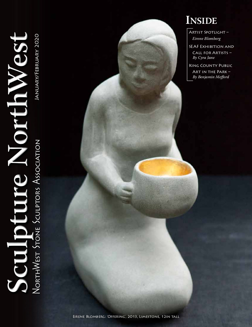 January February Sculpture Northwest Journal Cover