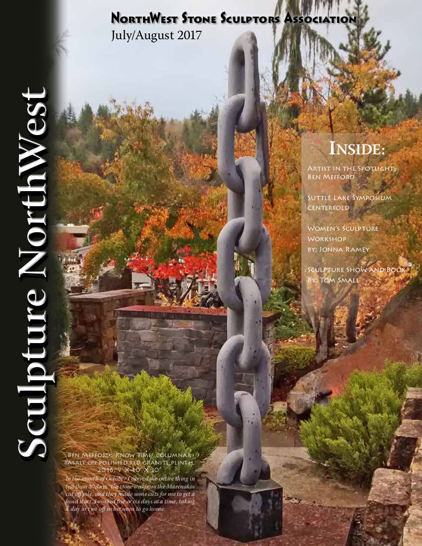 July-Aug 2017 Sculpture NorthWestCover