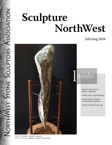 July Aug 2014 Sculpture NorthwestCover