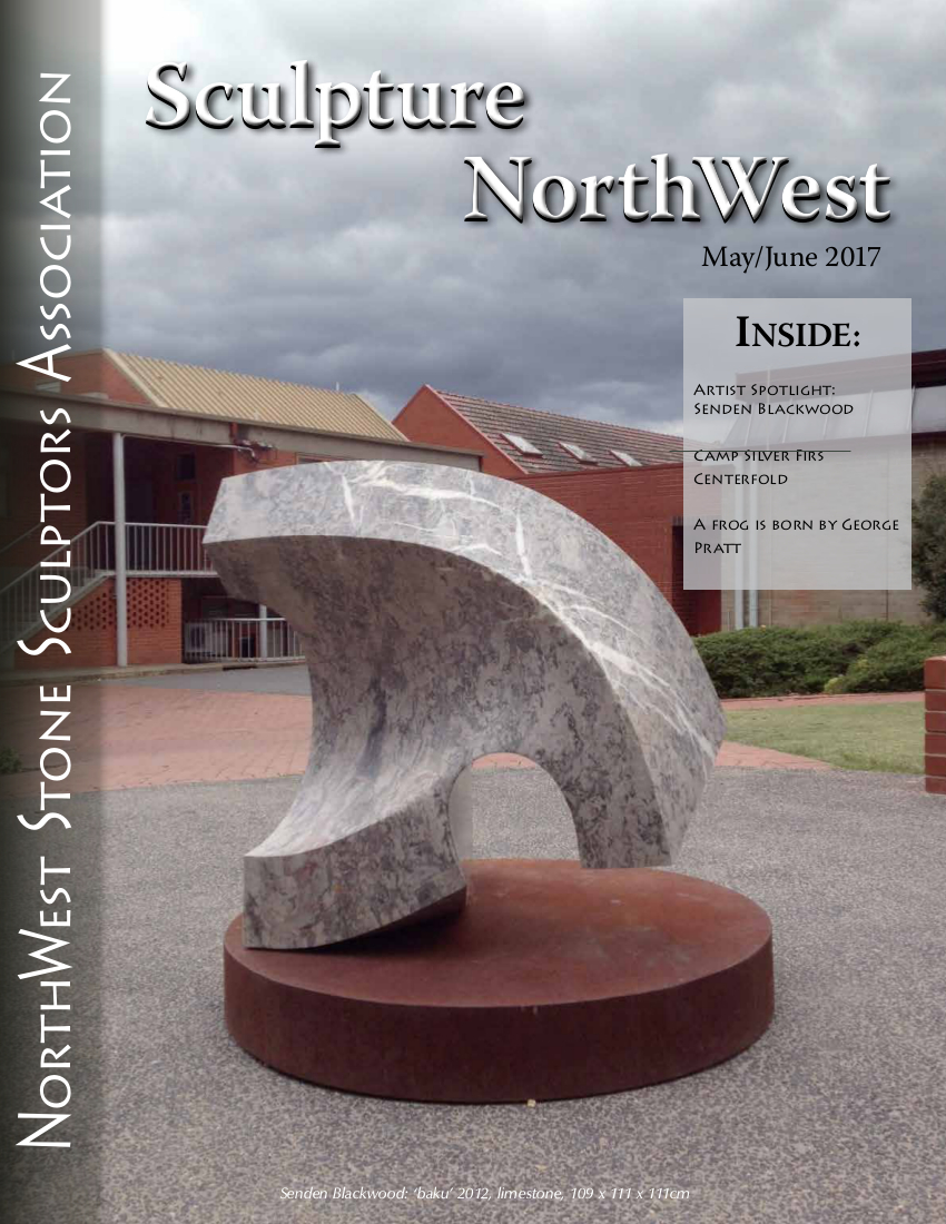 May-June 2017 Sculpture Northwest cover