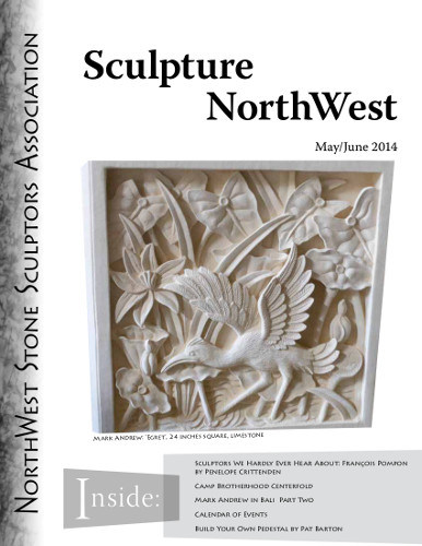May June 2014 Sculpture Northwest Cover