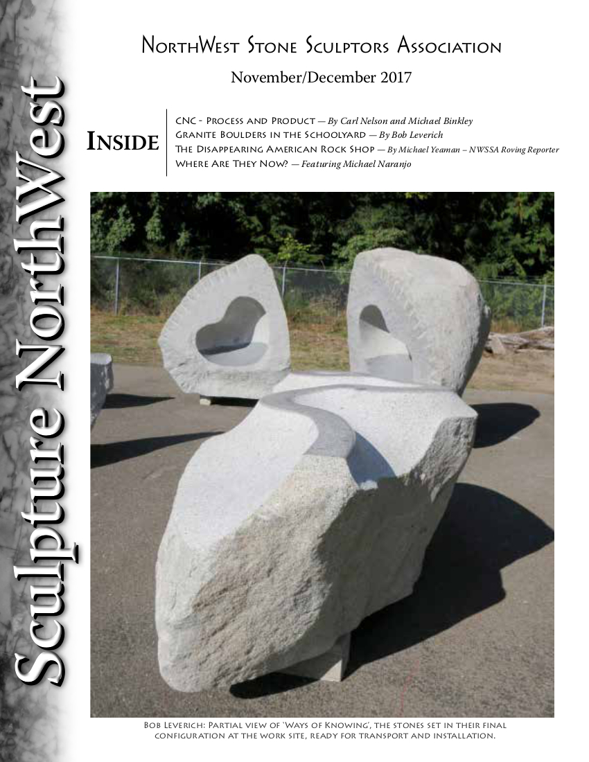 Sculpture Northwest November-December 2017 Issue