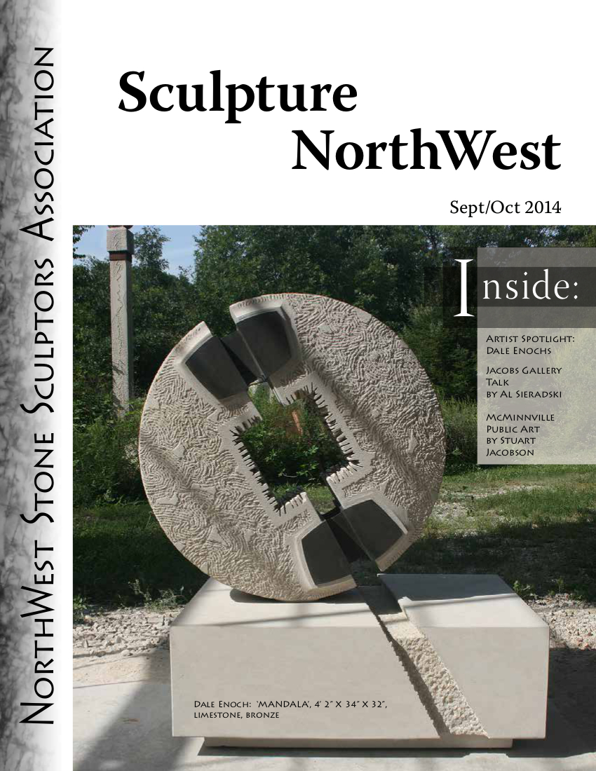 Sept-Oct Sculpture Northwest Cover