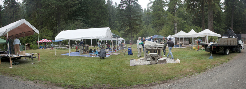 Silver Falls Stone Carving Symposium