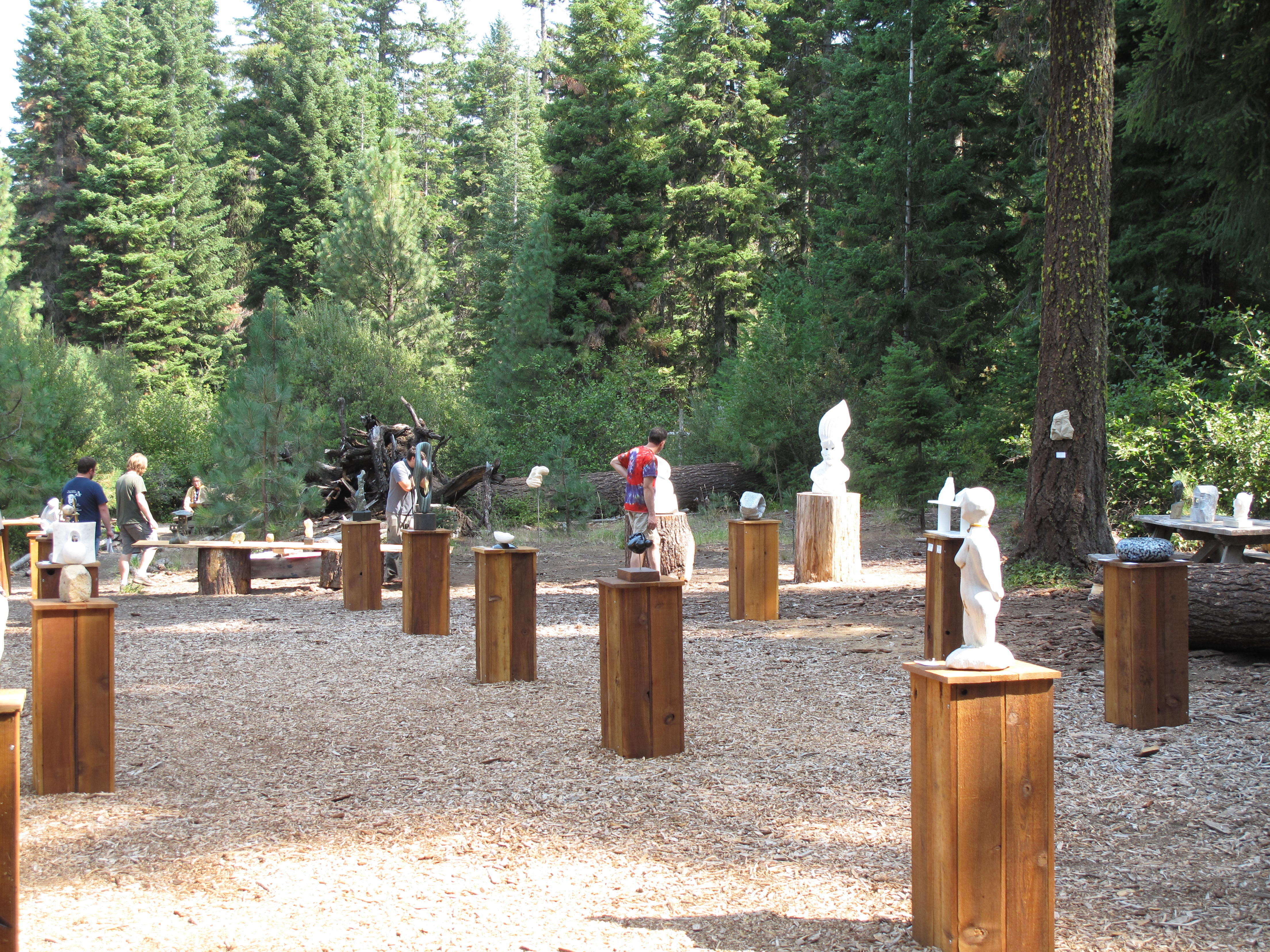 Suttle Lake Sculpture Show