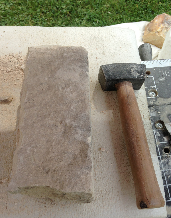 Limestone and Hammer